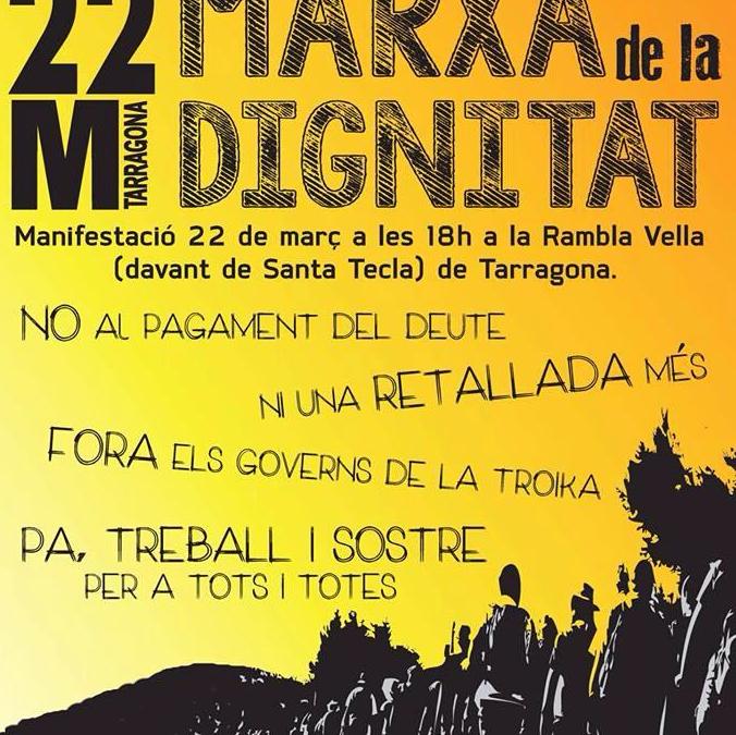 Tarragona Marxa #22M