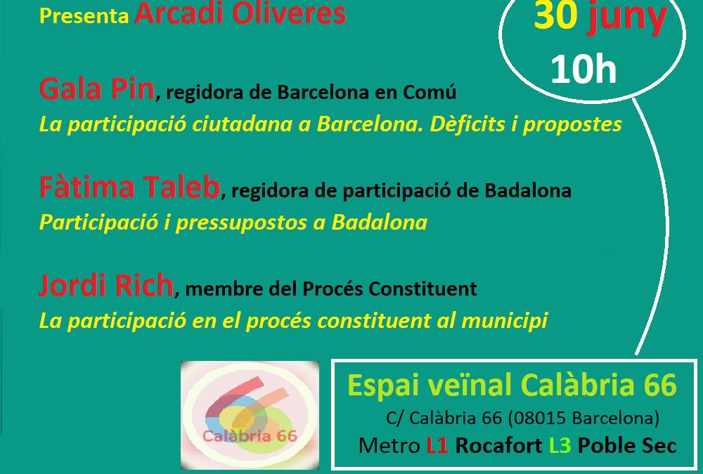 La participació ciutadana en l'àmbit municipal