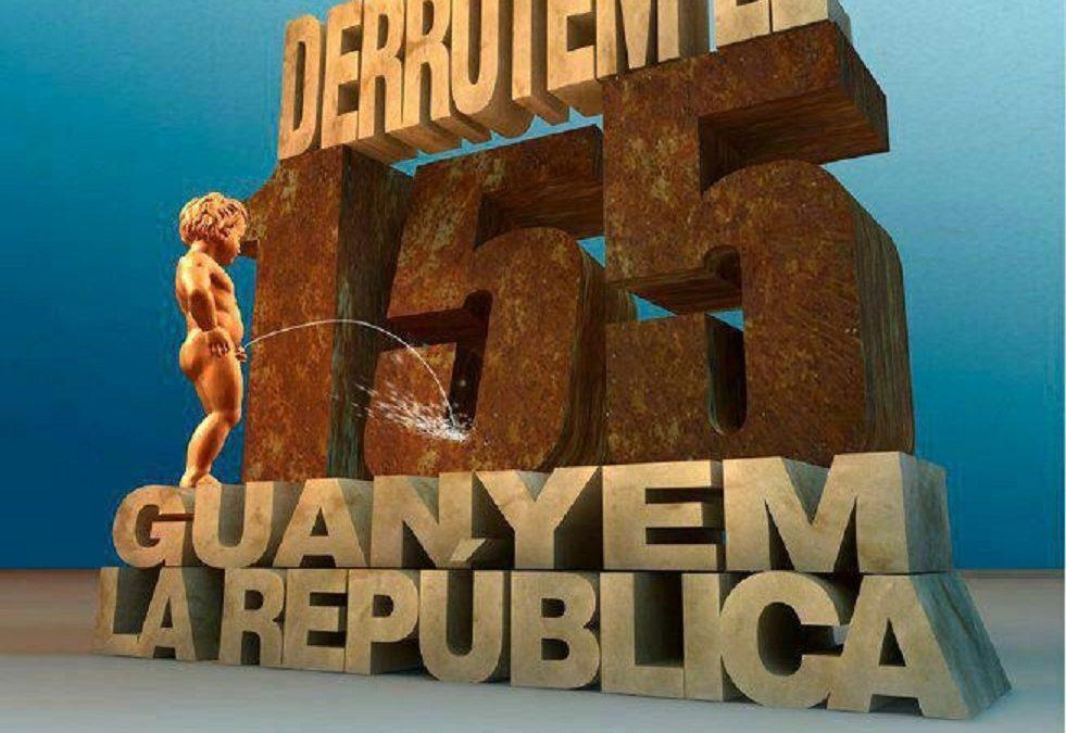 PLATAFORMA PER LA REPÚBLICA Derrotem el 155, guanyem la república