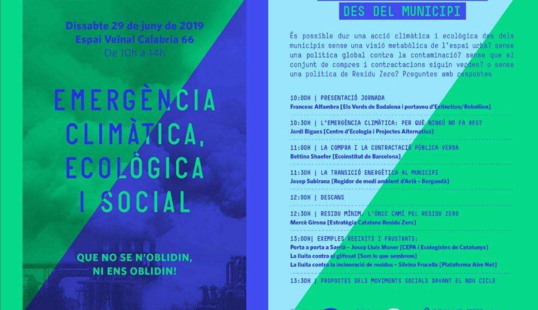 EMERGÈNCIA Climàtica, ecològica i social – Acte de Procés Constituent 29/06