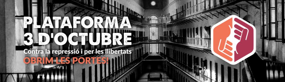 Manifest de la Plataforma 3O: davant la sentència del judici polític, organitzem la resposta.