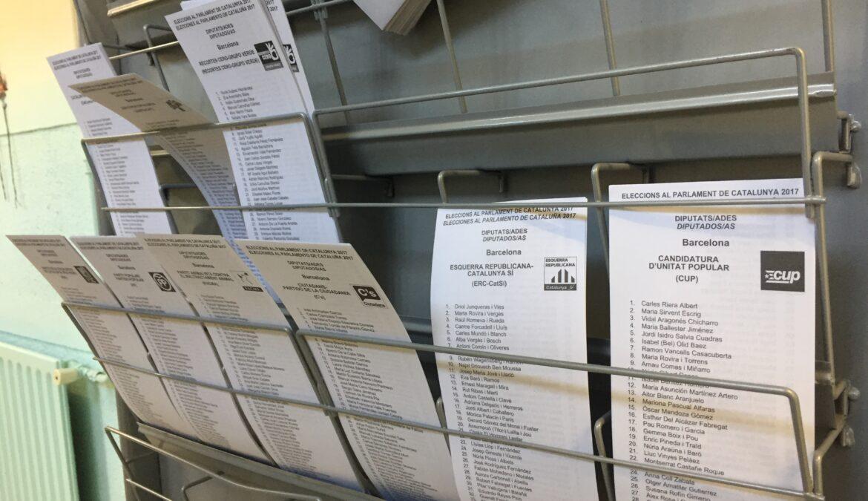 Procés Constituent davant les eleccions del 10 de novembre