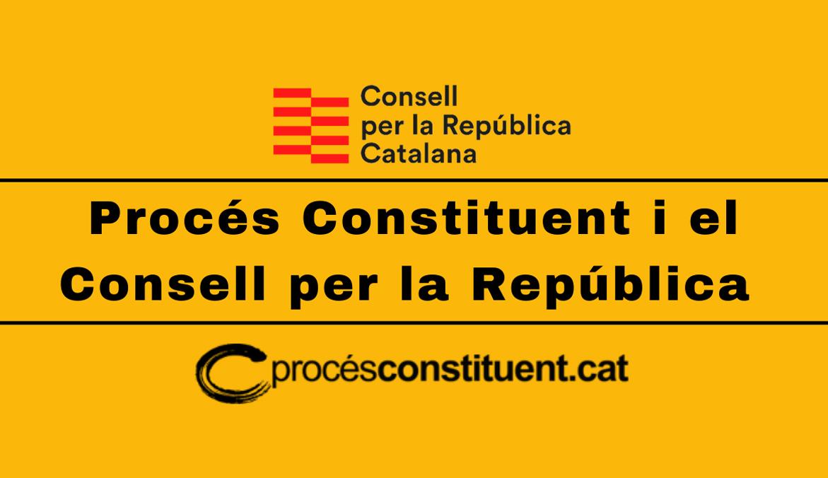 Procés Constituent i el Consell per la República
